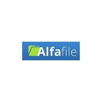 AlfaFile 90 Days 3 TB bandwidth 1 TB storage